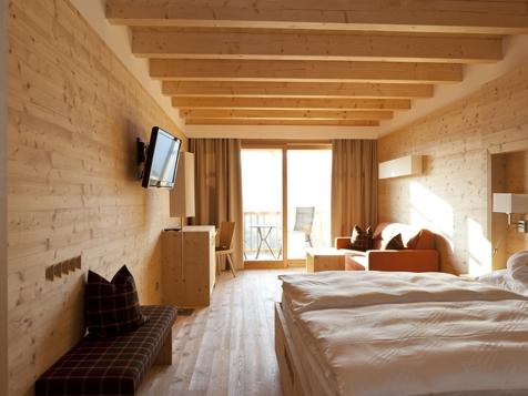 Doppelzimmer/Familienzimmer Talblick mit Balkon-3