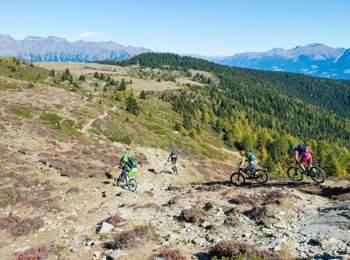 In bici a Naturno