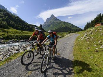 In bici a St. Anton am Arlberg
