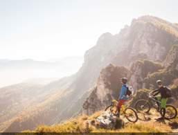In bici in Trentino