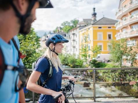 In bici in Val Pusteria