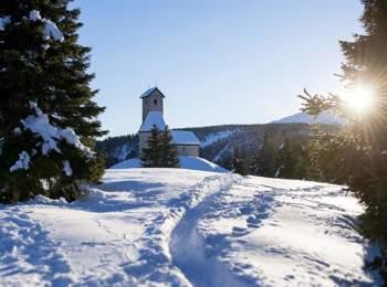 Inverno a Monte San Vigilio