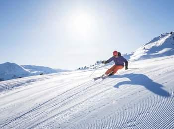 Inverno nell'area vacanze Passo Resia