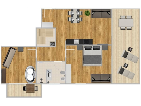 K1 Penthouse Deluxe -1