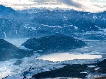 Kalterer See im Winter
