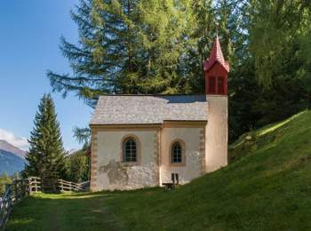Kapelle in Pfelders