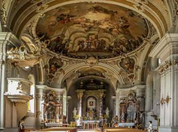 Kirche in Taisten