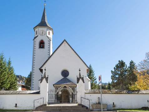 Kirche zur hl. Katharina in Corvara