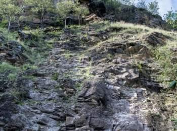 Klettergarten Burgstallknott in Partschins
