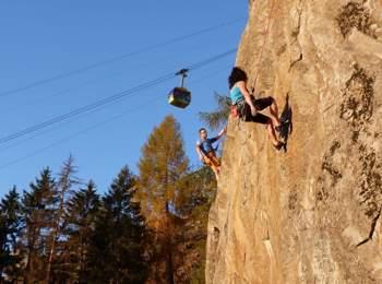 Klettergarten Huafwond bei Partschins