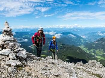 Klettersteig am Kesselkogel