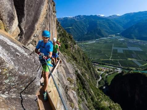 Klettersteig bei Naturns