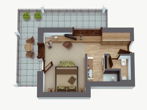 comfort doppelzimmer giardino plus-1