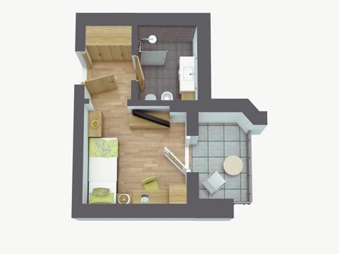 Comfort Einzelzimmer Residence-2