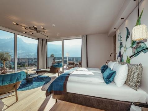 penthouse suite lodge top of meran premium - neu!-2