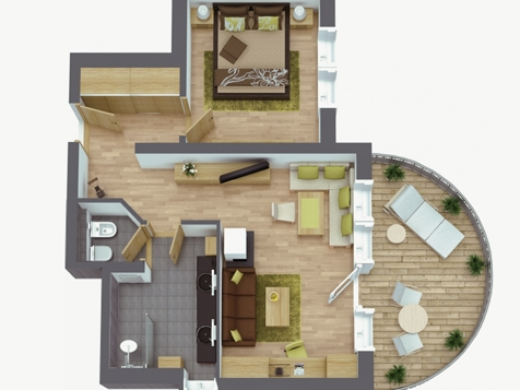 Luxussuite Residence-4