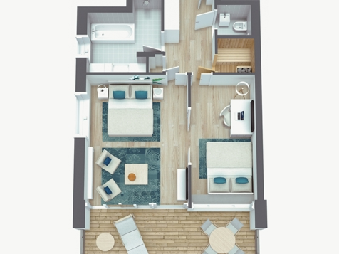 Suite Meran Lodge Love-5