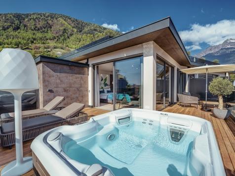 Penthouse Suite Lodge Top of Meran Premium-5