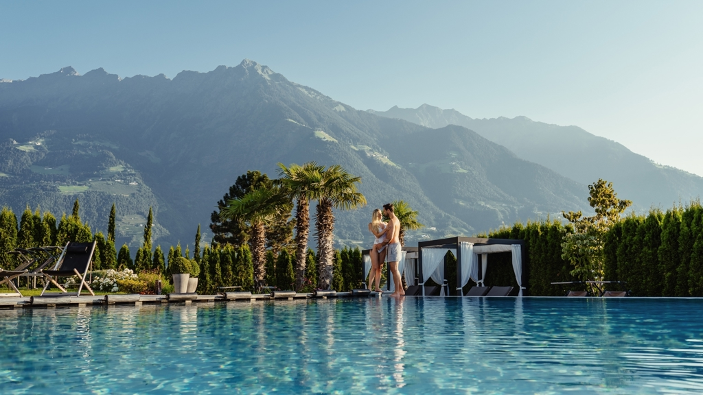 La maiena meran resort in marling meran und umgebung for Designhotel suedtirol