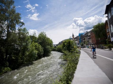 La pista ciclabile della Val Pusteria