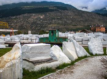 Laas ist das Zentrum des Weißen Goldes.