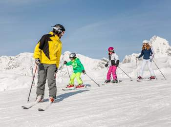 Ladurns skiing area