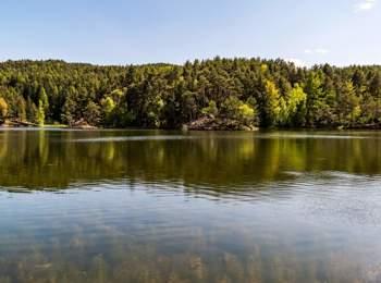 Lago di Costalovara sul Renon