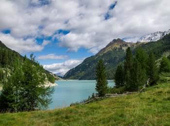 Lago di Gioveretto in Val Martello