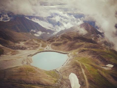 Lago di montagna a Ischgl