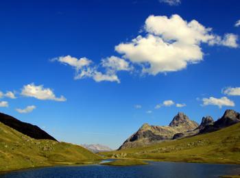 Lago di montagna presso Ischgl