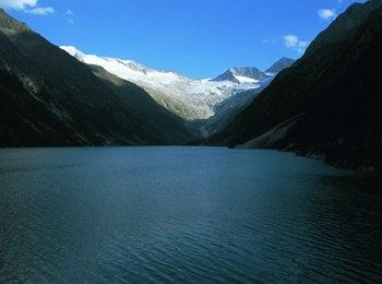 Lago Schlegeisstausee - Mayrhofen im Zillertal