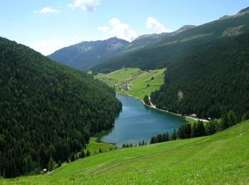 Lake Durnholz in Sarntal