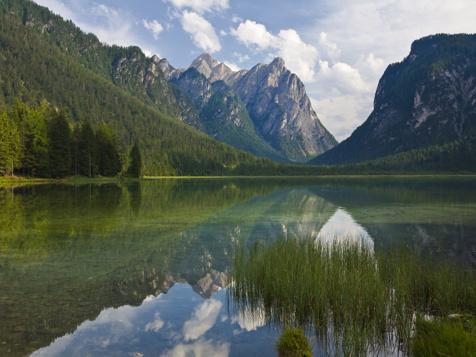 """Lake """"Toblacher See"""""""