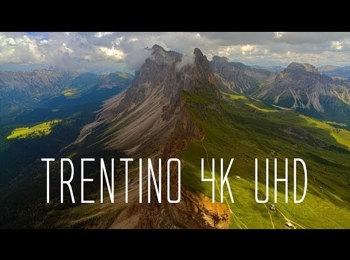Le montagne dell'Alto Adige dall'alto