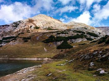 Limo Lake in Naturepark Fanes-Sennes-Prags