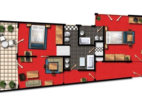 Chiara & Emma suite-4
