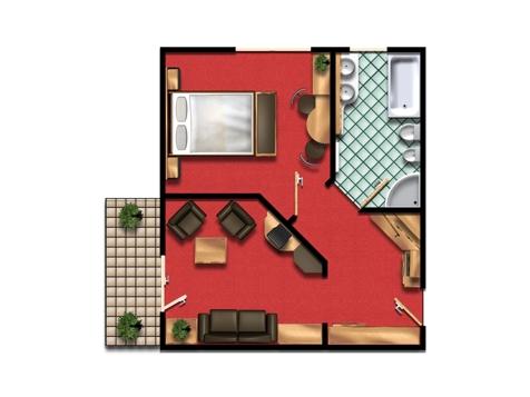 """""""Stammhaus"""" suite-5"""