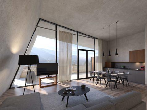 Penthouse GLAS mit privater Infrarotsauna-1