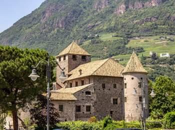 Maretsch Castle in Bozen