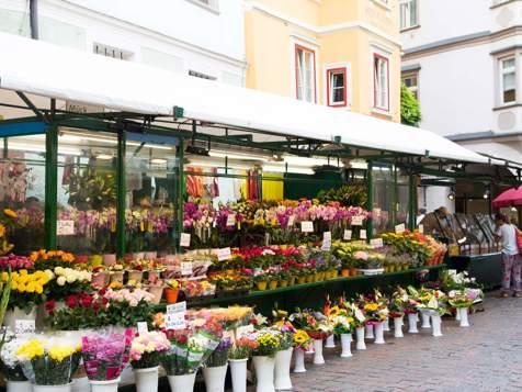 Mercato della frutta a Bolzano
