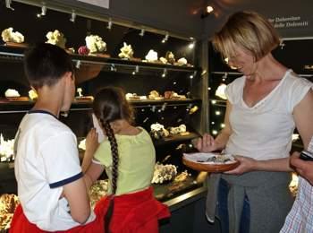 Mineralienmuseum in Teis