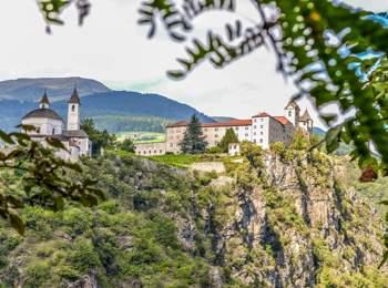 Monastero di Sabiona vicino a Chiusa