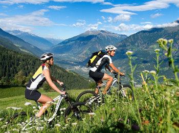 Mountain bike a Lagundo