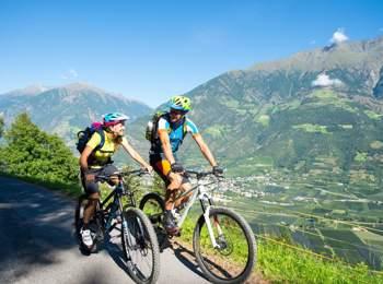 Mountain bike a Naturno