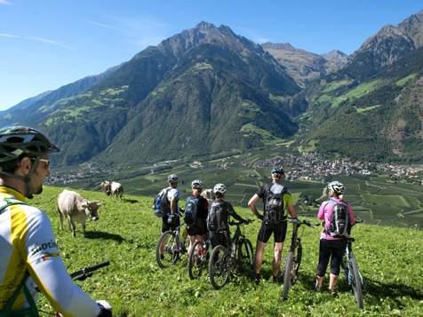 Mountain bike a Parcines