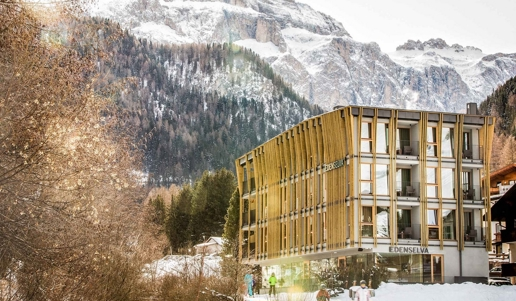 Winterferien in den s dtiroler dolomiten for Wolkenstein design hotel
