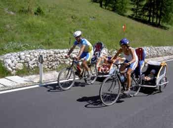 Mountainbike in Gröden/Val Gardena