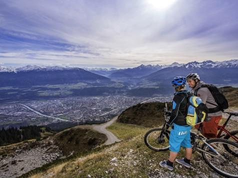 Mountainbiken bei Innsbruck