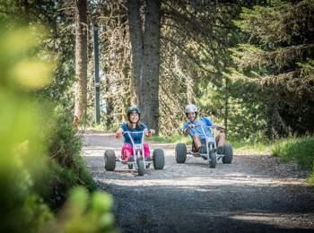Mountaincarts at Plose ski & hiking area