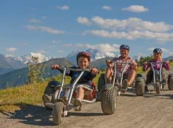 Mountaincarts im Vinschgau - Watles